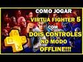 Como Jogar Virtua Fighter 5 Com Dois Controles No Modo