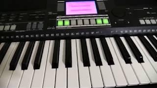YAMAHA PSR S550 Como Se Programa Ritmos Y Sonidos