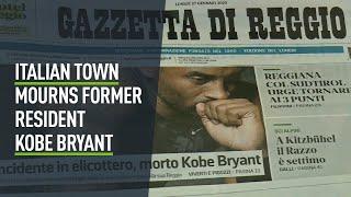 Kobe Bryant is mourned in Italian childhood home