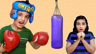 BOXER AAYU and SWEET DIDI #Fun BHAI aur BAHEN Moral Story for kids | Aayu and Pihu Show