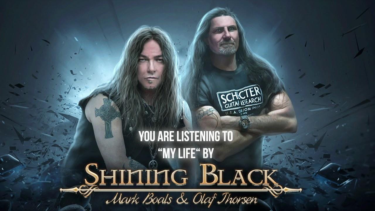 SHINING BLACK - My life