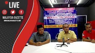 MGTV LIVE    Sidang Media Aktivis NGO & Politik Mengenai Tolak Statut Rom Kenapa TMJ Sahaja