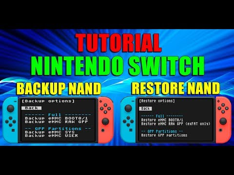Download How To Backup Your Nintendo Switch Nand Video 3GP Mp4 FLV