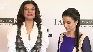 Sushmita Sen Rouble Nagi CoHost A Power Luncheon