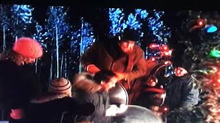 Christmas Vacation Sled.Lampoon S Christmas Vacation Sled Scene Th Clip