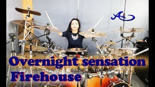 [New] FireHouse - Overnight sensation drum cover by Ami Kim (#64)