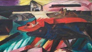Der Dämonische Marc  - Kandinsky, Marc & Der Blaue Reiter
