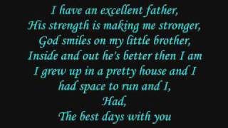 Taylor Swift ~ The Best Day  {with lyrics}