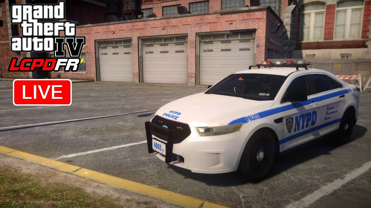 GTA 4 LCPDFR   Live Patrol   NYPD HWY - New York Police