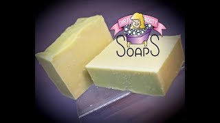100% Olive Oil Castille Soap WITH RECIPE