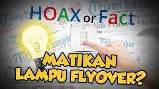 Hoax or Fact: Pelajar Padamkan Lampu Flyover Palur