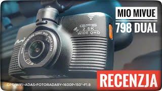 Wideorejestrator Mio MiVue 798 Dual recenzja test