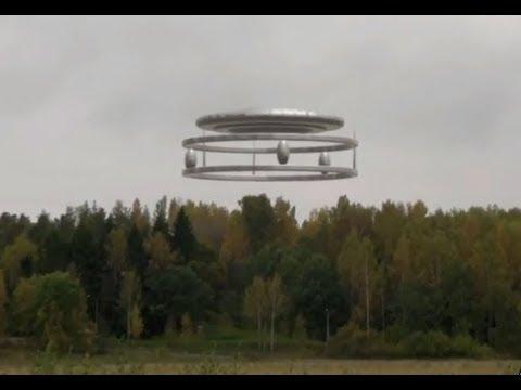 Невероятные видео кадры НЛО
