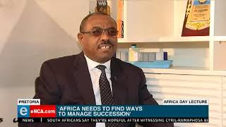 Africa needs to find ways to manage succession