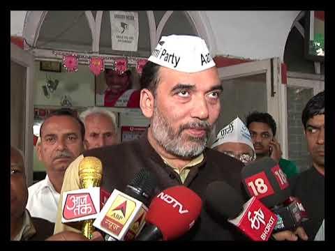 AAP Delhi Convenor Gopal Rai Byte after the Announcement of the Lok Sabha dates by EC