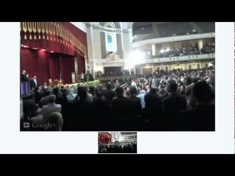 Dr Morsy's Speech, Cairo University
