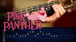 La Pantera Rosa   Guitarra Tutorial TABS    Theme Guitar SUPER FACIL