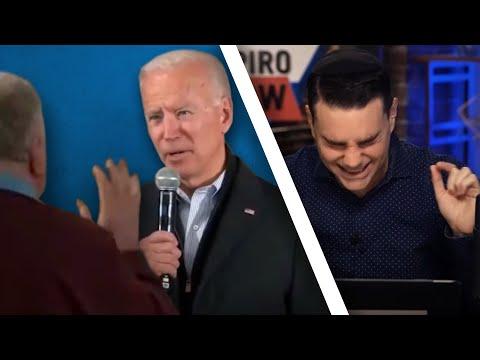 Joe Biden Calls An Iowa Voter Old, Fat, & Stupid (NOT CLICKBAIT 😂)
