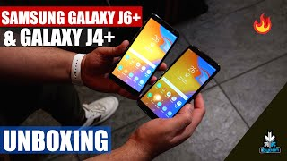 Samsung Galaxy J6+ and J4+ Unboxing and Hands On