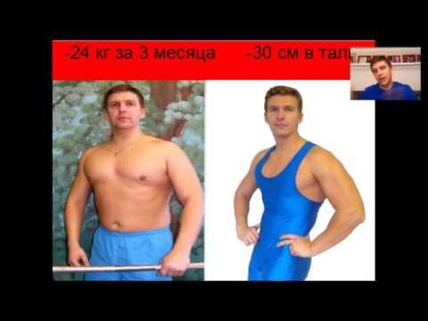 Рецепт похудения спорт