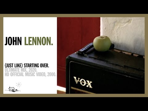 (JUST LIKE) STARTING OVER. (Ultimate Mix, 2020) - John Lennon (official music video HD)