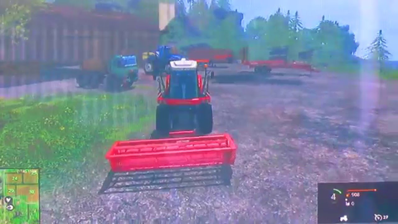 How to turn grass into chaff FS15 PlayStation 3 (Edited)