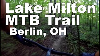 Highlights of a ride through Lake Milton Trail. Very twisty, mostly flat, and difficult to pick up speed.