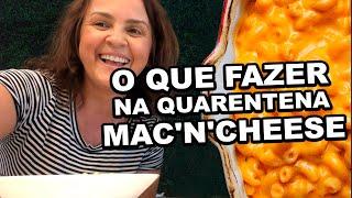 COMO FAZER MAC AND CHEESE- Receita Americana De Macarrão  Com Queijo
