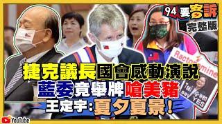 捷克是反中起點!議長韋德齊:我是台灣人!
