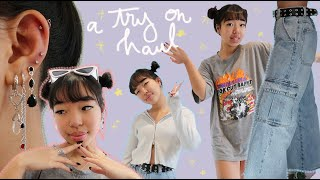 tbh these are the cutest clothes i've ever bought (✿◕‿◕) HUGE TRY ON HAUL