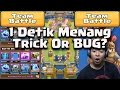 Wow 1 Detik Menang 3 Crown Clan Battle   Clash Royale Game Play Indonesia