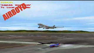 NTSB Animation Asiana Airlines Flight 204 and Southwest Airlines Flight 440