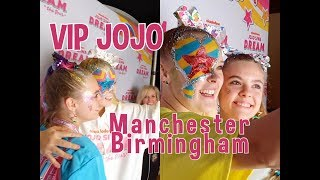 JOJO D.R.E.A.M. TOUR VIP UK  /LEA