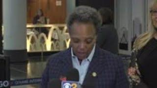 Chicago Mayor update on response to virus