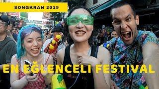 Tayland'da dünyanın en büyük su savaşına katıldık! Songkran 2019