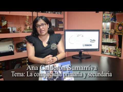 Programa 04: La complicidad primaria y secundaria - Luces, Camara ... Derecho