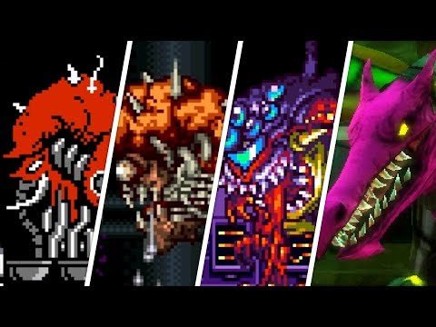 Evolution of Final Bosses in 2D Metroid games (1986 - 2017)
