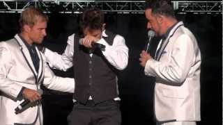 Joey McIntyre - Please Don't Go Girl feat AJ Brian, Frick Frack Bromance Nick Lapdance Grinding HD