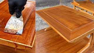 Mid Century Furniture Restoration | Lane Furniture Refinish