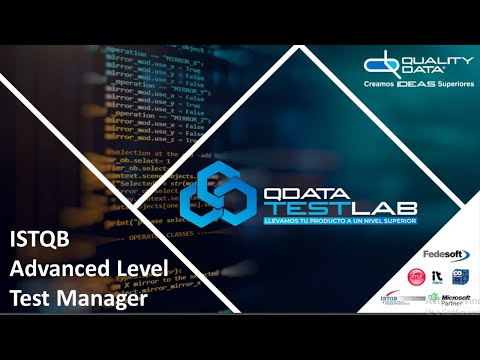 Clase Virtual ISTQB Test Manager Proceso de Pruebas Quality Data