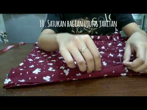 Video How to sew hijab instant (menjahit hijab instant)