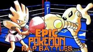 Hitmonlee  - (Pokémon) - Hitmonchan vs Hitmonlee 2 - Pokemon Rap Battle #2
