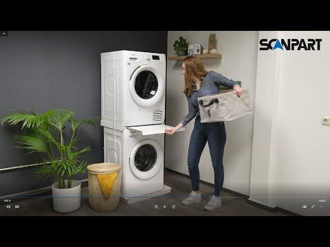 Scanpart tussenkader + werkblad prof (oa voor warmtepompdroger)