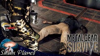 ПОЗИТИВНЫЙ КОП ► РЕЛИЗ 🔥 Metal Gear Survive #11 прохождение на русском   хардкорный survival