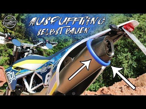 Auspuffring selbst bauen! || Husqvarna 701 || Felix_Superbike erklärt #1 😎