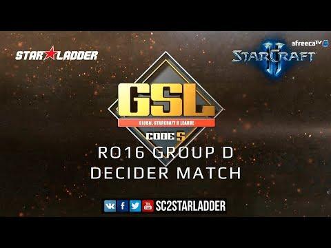 Gratis Video 2019 Gsl Season 1 Ro16 Group D Decider Match Rogue