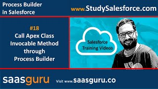 18 Call Apex class invocable method through Process Builder in Salesforce | Salesforce Training
