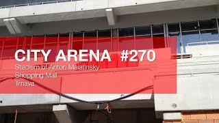 preview picture of video 'CITY ARENA - (270) Prvý pohľad na luxusné V.I.P sedadlá (First look at the luxury V.I.P seats)'