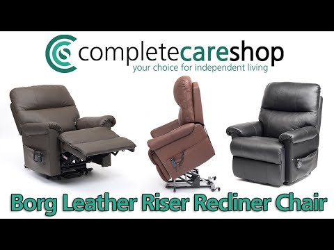 Dual Motor Leather Riser Recliner Chair