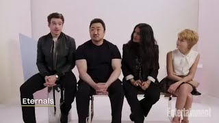 Interview The Eternals Cast on Entertainment Weekly_Ma Dong Seok/Don Lee